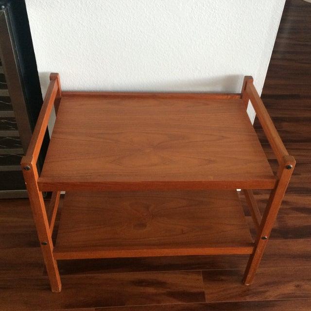BRDR Furbo Danish Modern Teak Table - Image 3 of 9