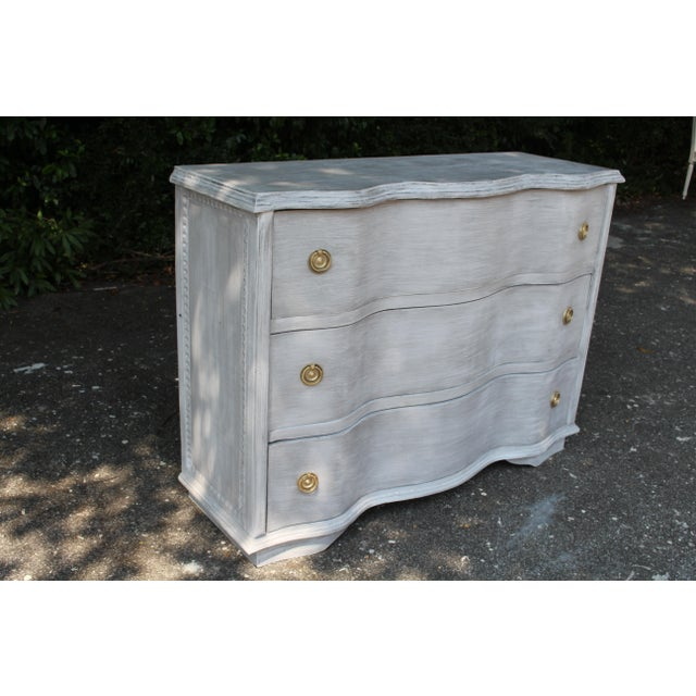 French Vintage Mid-Century French Country Chest of Drawers For Sale - Image 3 of 9