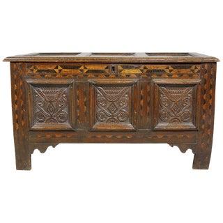 Jacobean Oak Coffer For Sale