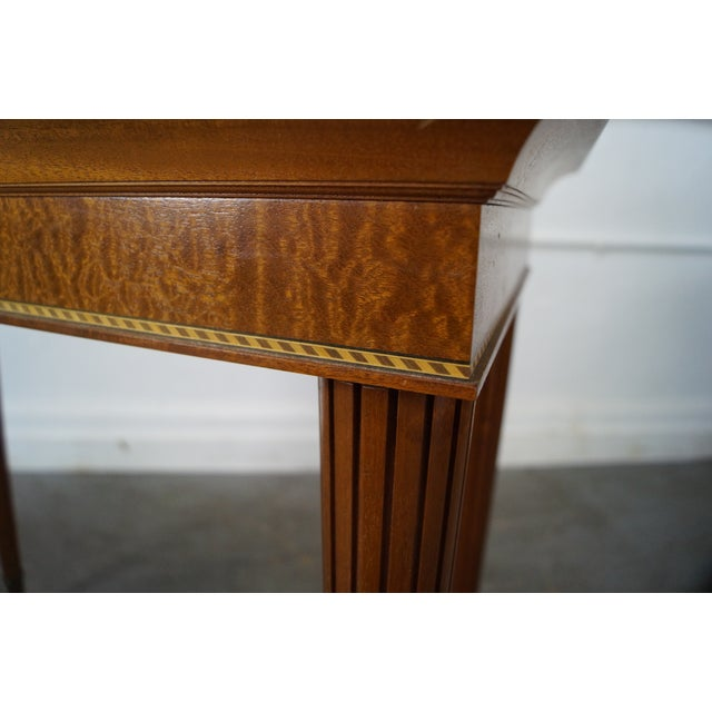 Custom Regency Style Inlaid Console Table by RP Wrigley - Image 5 of 10
