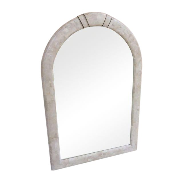 Maitland-Smith Tessellated Stone Arch Mirror - Image 1 of 5