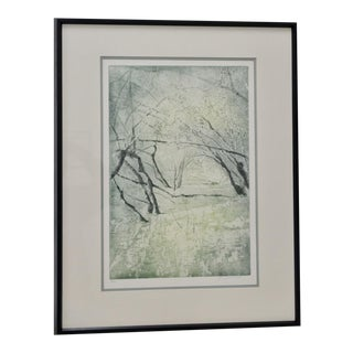 Mi Desmedt (France) Original Etching w/ Aquatint