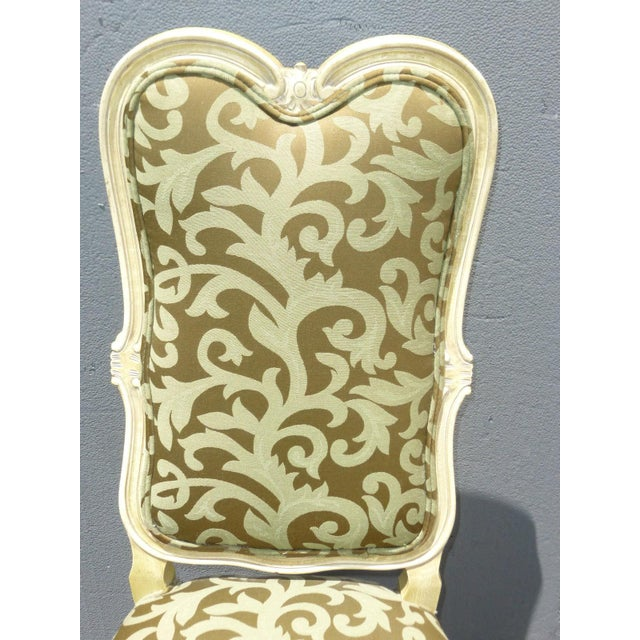 Karges Louis XV Style Dining Chairs - Set of 8 - Image 6 of 11