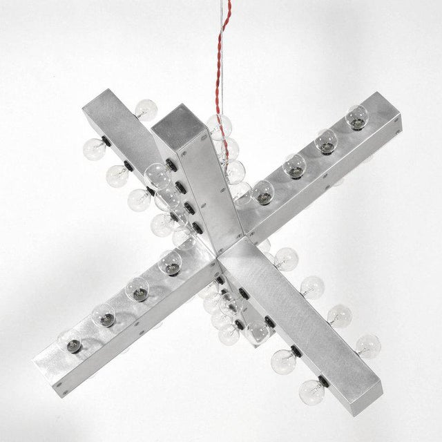 Modern Intersection Lamp by Downtown For Sale - Image 3 of 11