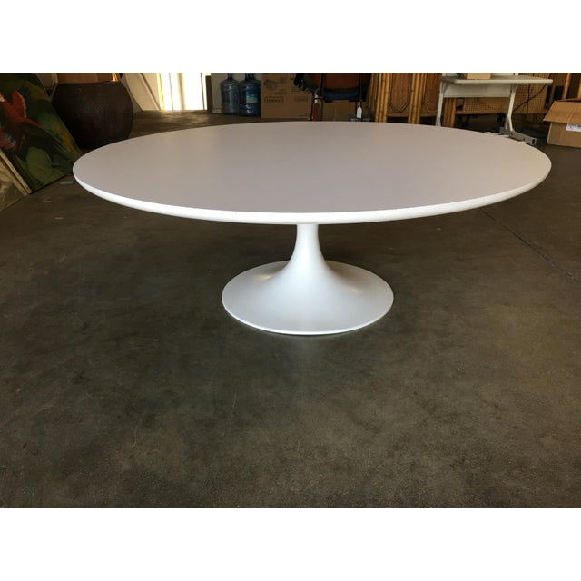 "1970s Round 42"" Tulip Coffee Table by Eero Saarinen for Knoll For Sale - Image 5 of 9"