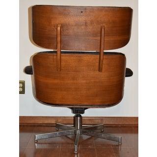 Brindle Cowhide Covered Vintage Selig Lounge Set Preview