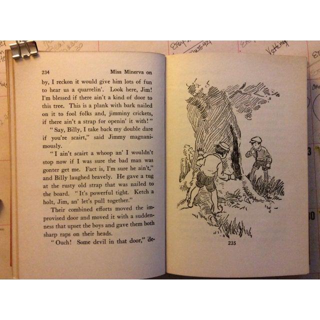 "Antique Children's Book: ""Miss Minerva on the Old Plantation"" Published 1923 - Image 5 of 7"