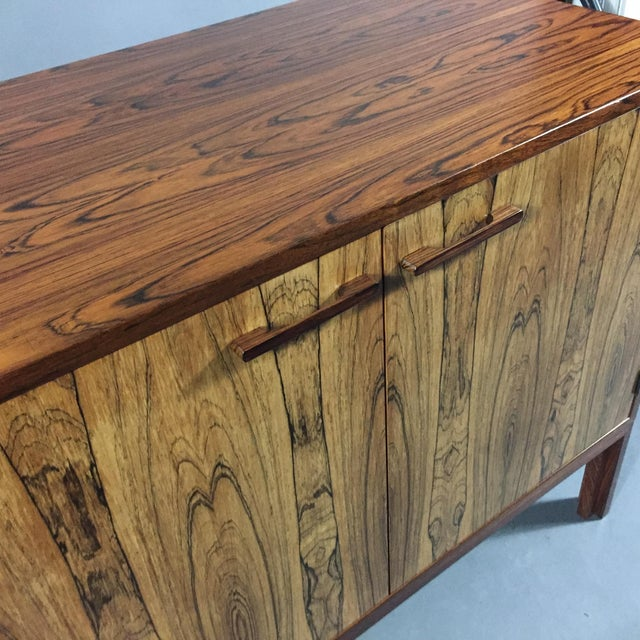 Brown Kai Kristiansen Rosewood Cabinet, Denmark 1960s For Sale - Image 8 of 11