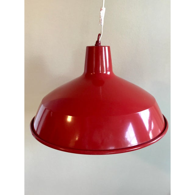 Red Barn Pendant Light - Image 2 of 7