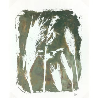 English Abstract Painting - Modern Grass For Sale