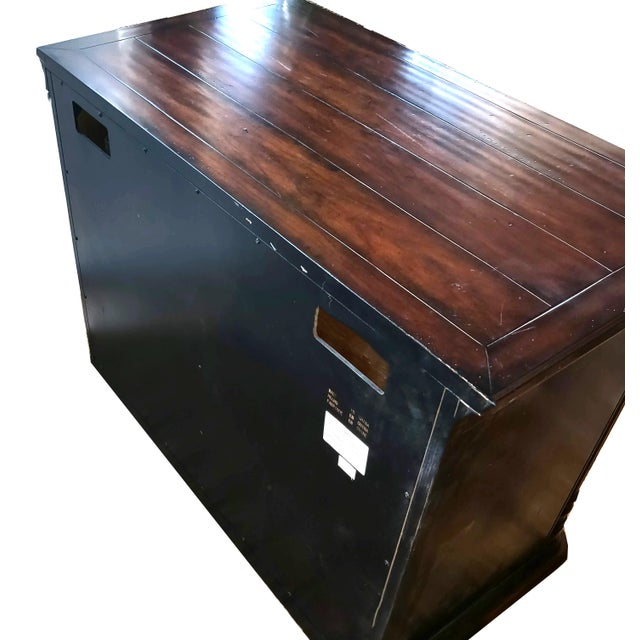 Mahogany Executive Office 2 Drawer Lateral Filing Credenza by Hooker Furniture For Sale In Palm Springs - Image 6 of 13