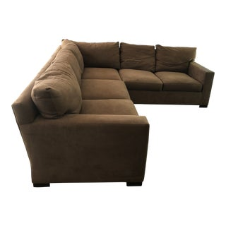 Crate and Barrel Axis Sectional For Sale