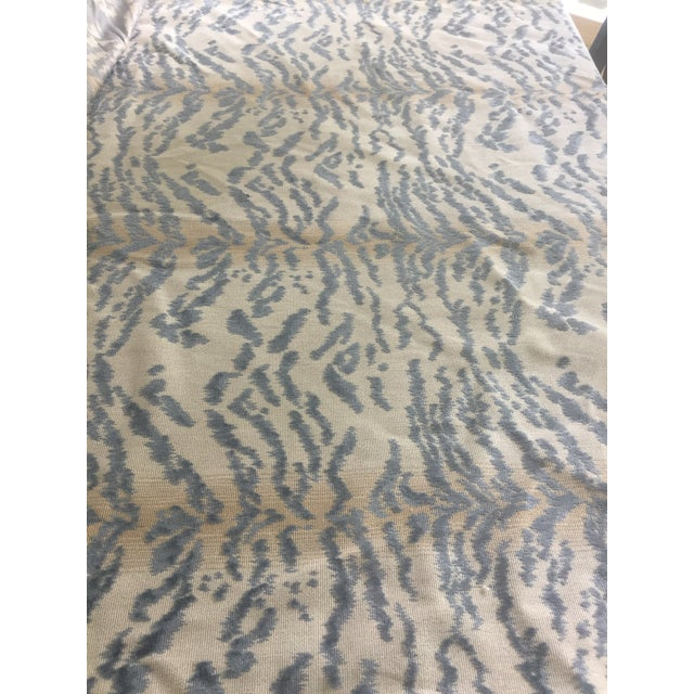 "The price is for 2 1/4 yards of Cowtan & Tout fabric in Rajah Blue. Repeat: Vertical: 17.25"" Horizontal: 13.75 54"" wide..."