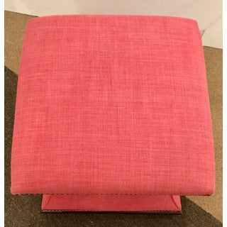 Hickory Chair Modern Charles Hassock Pink Ottoman Preview