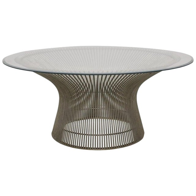Warren Platner for Knoll Coffee Table, Usa, 1970s For Sale