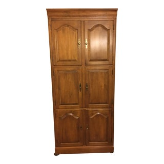 Ethan Allen Entertainment Armoire Tv Media Cabinet