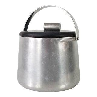 Vintage Aluminum Ice Bucket For Sale