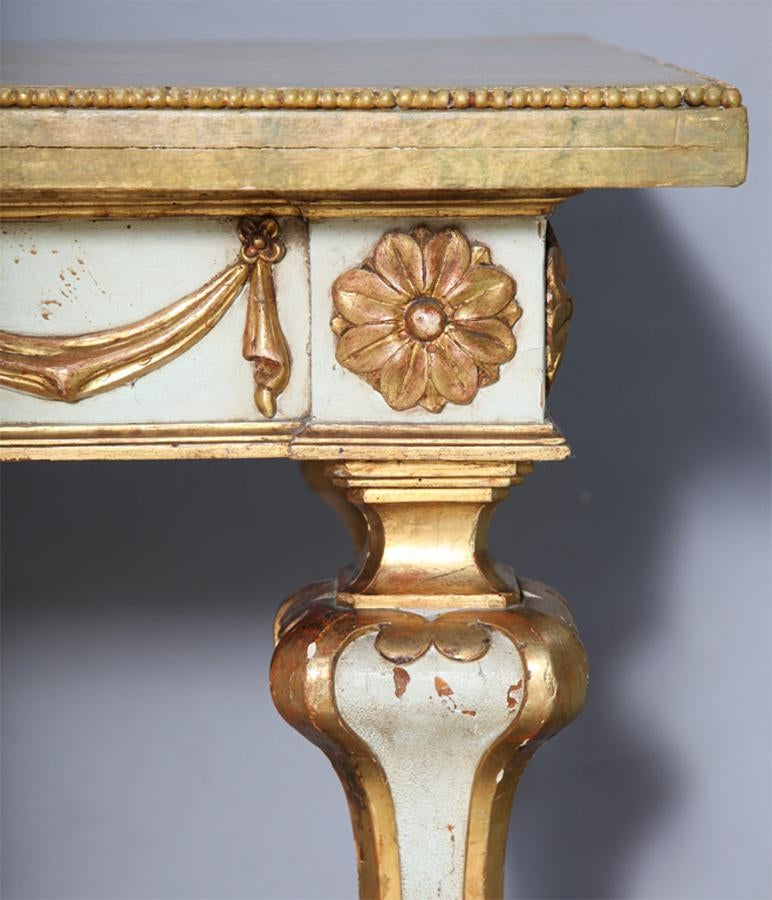 Faux Painted Italian Console Table For Sale   Image 4 Of 11