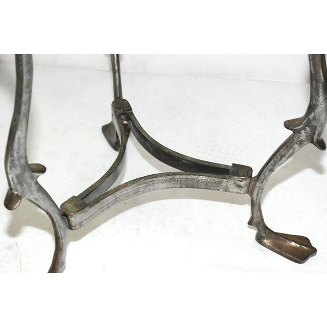 Iron Swan Gueridon Table For Sale - Image 4 of 8