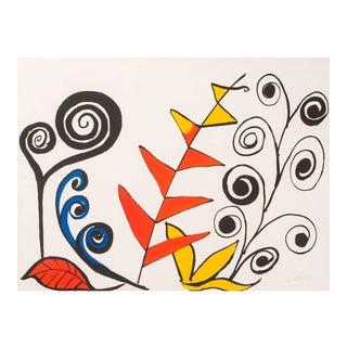 Calder Original Lithograph For Sale