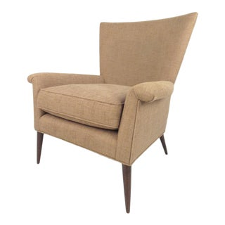 Mid-Century Paul McCobb Wingback Lounge Chair For Sale