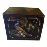 Image of Antique Asian Chicken Box For Sale