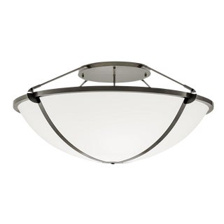 Steel Grey Pendant Light For Sale