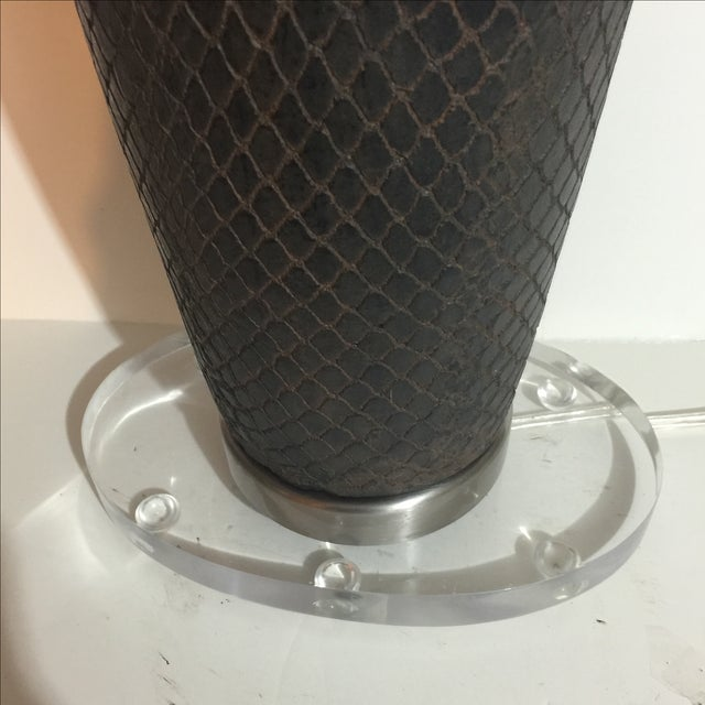 Modern John Richard Ceramic Lamp - Image 4 of 5
