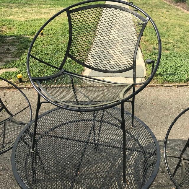 Salterini Patio Set, 5 Pieces For Sale In Richmond - Image 6 of 9