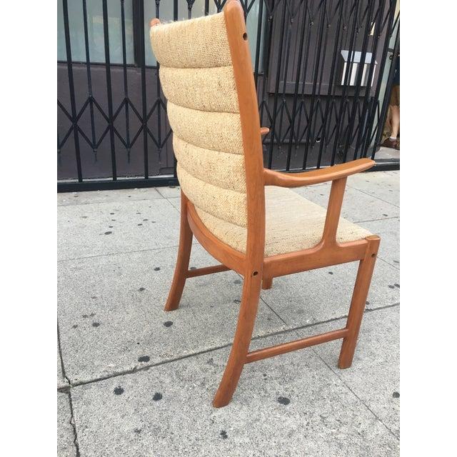 Danish Modern Teak Dining Chairs - Set of 6 - Image 5 of 11