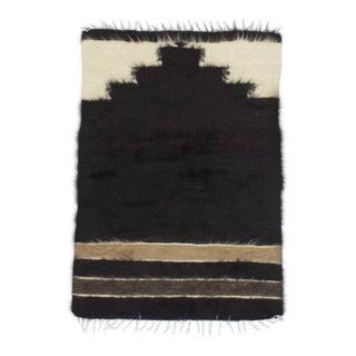 Vintage Turkish Decorative Prayer Kilim Rug - 2′8″ × 3′10″ For Sale