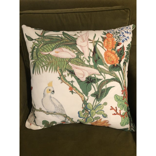 """Contemporary Indoor/Outdoor Pillow From """"The Inside"""" For Sale In New Orleans - Image 6 of 6"""
