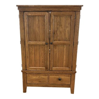 Broyhill Wooden Entertainment Center For Sale