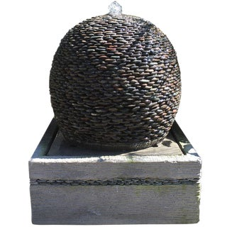 Pebble Ball Fountain For Sale