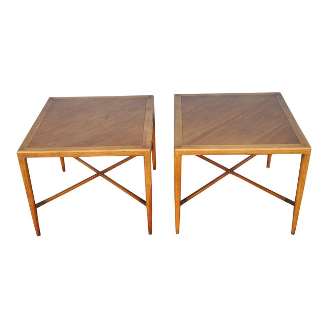 Tomlinson Mid-Century Side Tables - A Pair - Image 1 of 8