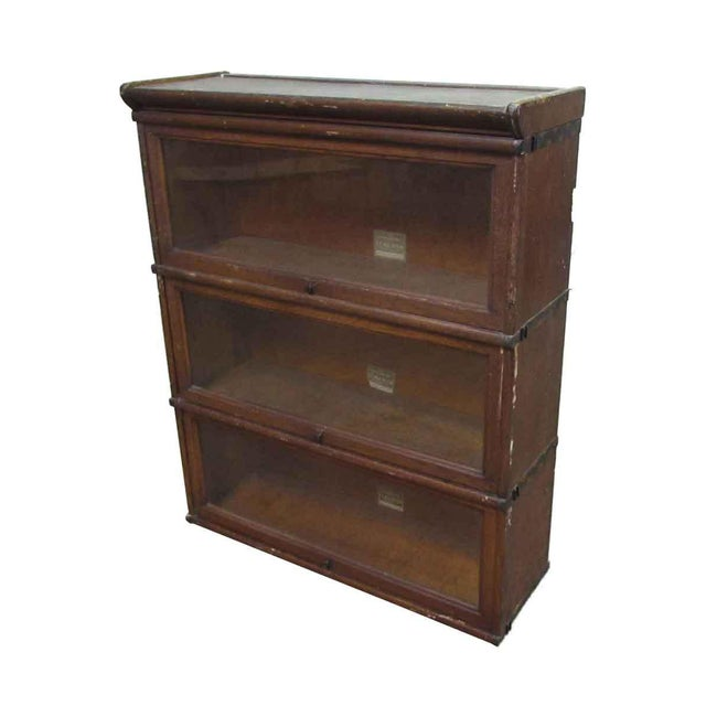 Brown The Interchangeable Barrister Bookcase For Sale - Image 8 of 10