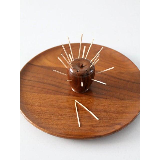 Mid-Century Walnut Serving Tray - Image 5 of 8