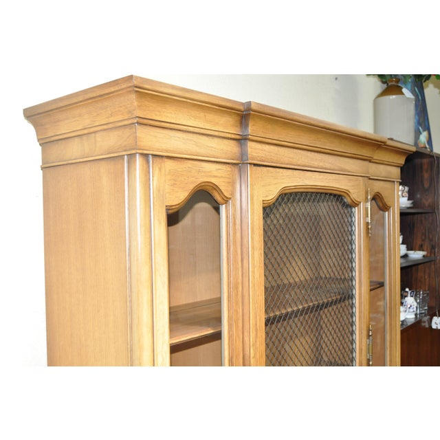 French Provincial Walnut Cabinet - Image 4 of 8
