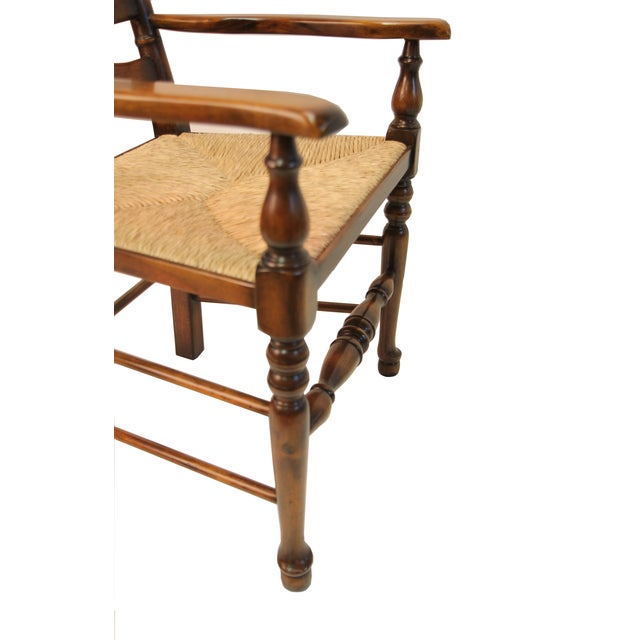 Ladder Back Arm Chair - Image 3 of 3