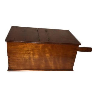 Vintage Wood Club Voting Box & Balls For Sale