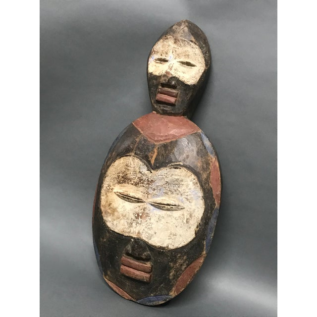 African Tribal Art Kwele Mask For Sale - Image 4 of 7