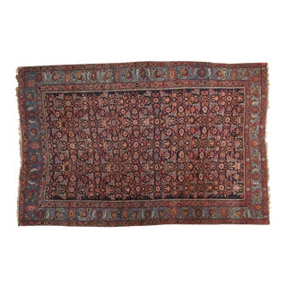 "Antique Bijar Rug - 4'8"" x 7'2"" For Sale"