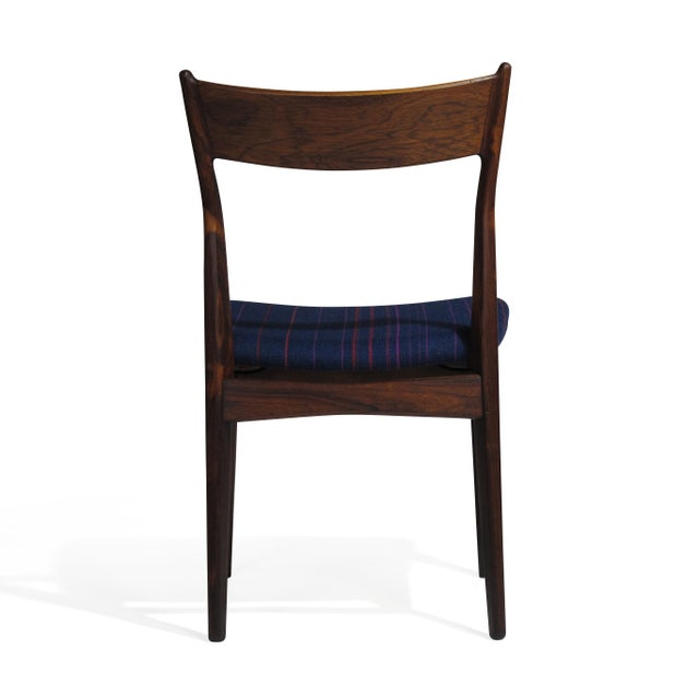 Wood H. P. Hansen for Randers Danish Rosewood Dining Chairs - Set of 6 For Sale - Image 7 of 11