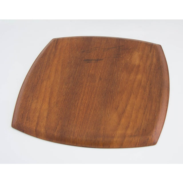Molded Teak Serving Tray - Image 2 of 5