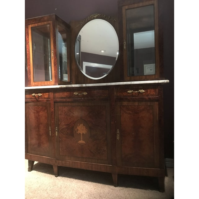 Antique French Rosewood Server - Image 5 of 5