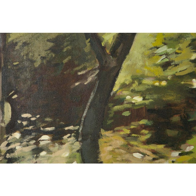 "Slater Sousley, ""The Woods Beckon"" Painting For Sale In Chicago - Image 6 of 9"