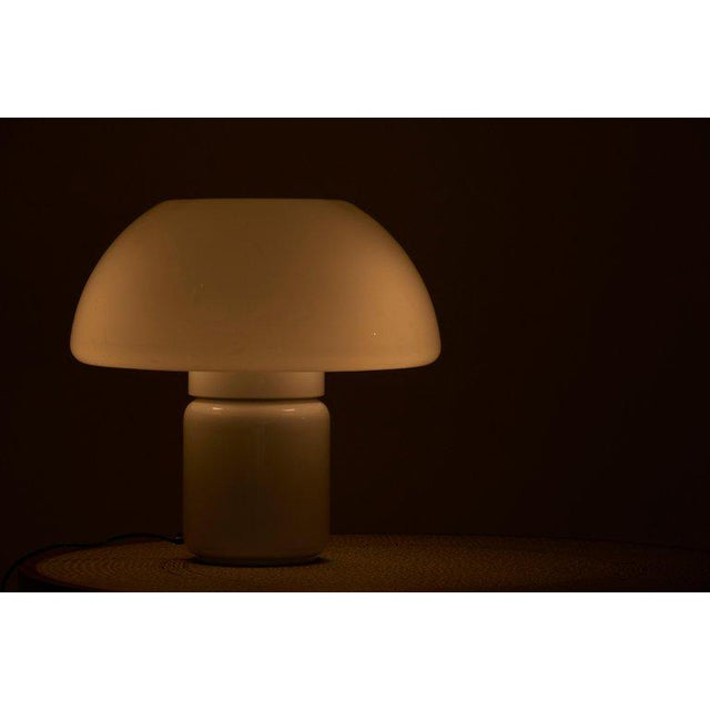 Martinelli Luce Mushroom Table Lamp Mod. 625 by Elio Martinelli for Martinelli Luce, Italy For Sale - Image 4 of 11