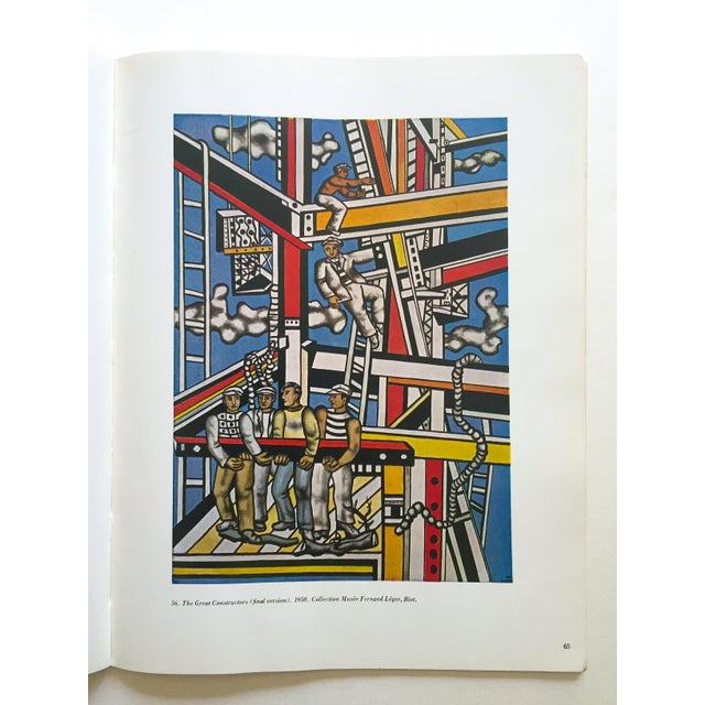 """Fernand Leger Rare Vtg 1962 Lmtd Edtn """" Five Themes & Variations """" Guggenheim Museum Exhibition Catalogue Collector's Art Book For Sale - Image 9 of 13"""