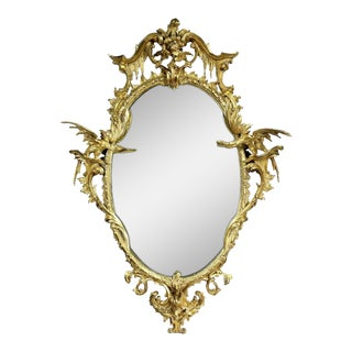 George III Gold Leaf Giltwood Mirror For Sale