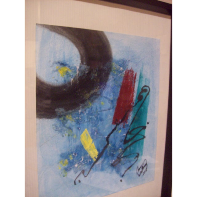"""""""The Corner of My Mind"""" Abstract Painting For Sale - Image 4 of 5"""